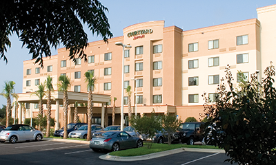 Courtyard by Marriott Pensacola Downtown Exterior View
